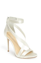Imagine By Vince Camuto Women's 'Devin' Sandal Pure White Satin