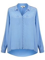 Alice By Temperley Somerset By Alice Temperley High Low Blouse Blue