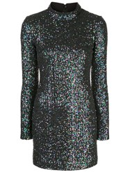 Rachel Zoe Pierina Sequin Embellished Mini Dress 60