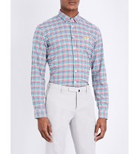 Thomas Pink Freeman Checked Classic Fit Cotton Shirt Multi Multi