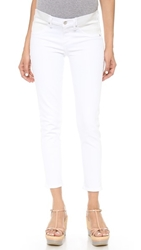 Citizens Of Humanity Avedon Below The Belly Ultra Ankle Skinny Jeans Optic White