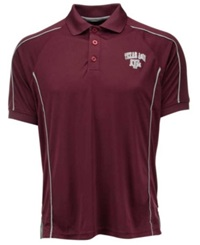 Colosseum Men's Texas A And M Aggies Pitch Polo Maroon