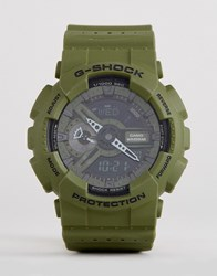 G Shock Ga 110Lp 3Aer Digital Silicone Watch In Green Green