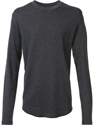 321 Long Sleeved Top Grey