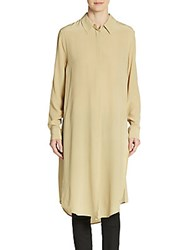 Equipment Pascal Silk Tunic Khaki