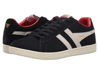 Gola Equipe Suede Navy White Red Men's Shoes Multi