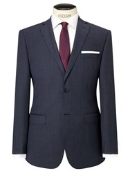 Daniel Hechter Pindot Tailored Suit Jacket Charcoal