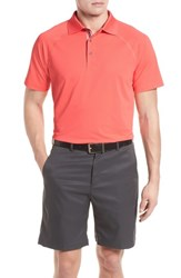 Bobby Jones Raglan Performance Pique Polo Mai Tai