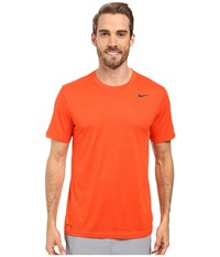Nike Legend 2.0 Short Sleeve Tee Team Orange Black Black Men's T Shirt