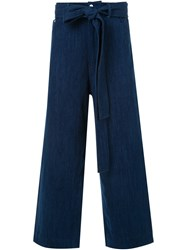 Craig Green Cropped Jeans Blue