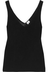 Iris And Ink Stretch Knit Tank Black