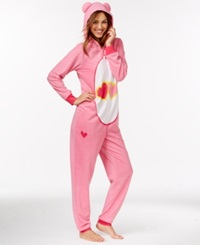 Briefly Stated Care Bear Adult Hooded Onesie Carebear