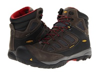 Keen Utility Tucson Mid Magnet Chili Pepper Men's Work Lace Up Boots Tan