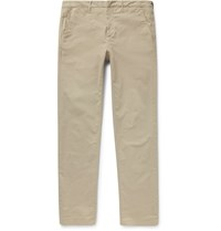 Dunhill Slim Fit Stretch Cotton Chinos Stone