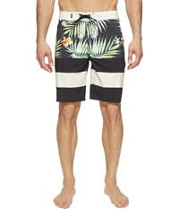 Vans Era Stretch Boardshorts 20 Black Decay Palm Men's Swimwear