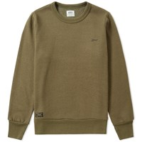 Wtaps Hellweek 01 Crew Sweat Green