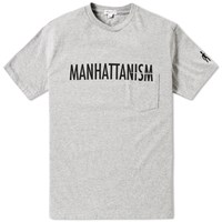 Engineered Garments Manhattanism Tee Grey