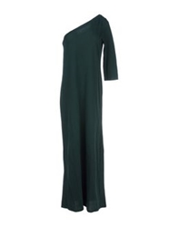 Douuod Long Dresses Dark Green