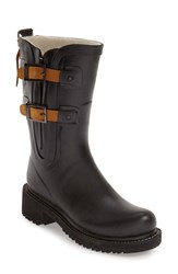 Women's Ilse Jacobsen Waterproof Buckle Detail Snow Rain Boot 2' Heel