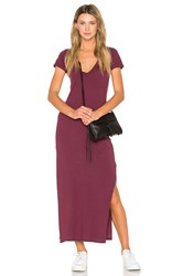 Candc California Tracy Maxi Dress Burgundy
