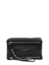 Givenchy Pandora Waxed Leather Wristlet Clutch