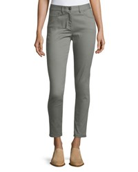 St. John Bardot Double Stretch Slim Leg Jeans Gray