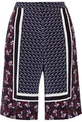 Mother Of Pearl Kidd Printed Crepe De Chine Shorts Multi
