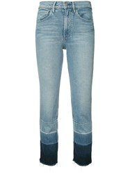 3X1 Shelter Cropped Jeans Blue