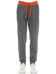 Emporio Armani Train 7 Cotton Blend Sweatpants Grey