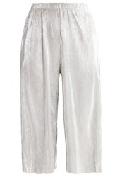 Only Onlprimrose Trousers Silver