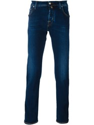 Jacob Cohen Long Fit Skinny Jeans Blue