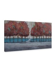 Marmont Hill Chestnut Branches Ii Painting Print On Wrapped Canvas Grey