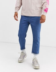 Brooklyn Supply Co. Co Track Fit Jeans In Blue Wash