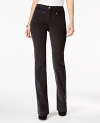 Styleandco. Style Co. Corduroy Bootcut Pants Only At Macy's Carbon Grey
