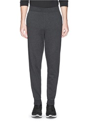 Alexander Wang Rib Cuff Sweatpants Grey
