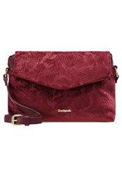 Desigual Across Body Bag Magenta Haze Red
