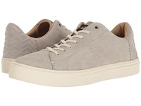 Toms Lenox Sneaker Drizzle Grey Nubuck Men's Lace Up Casual Shoes Gray