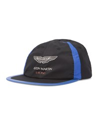 Hackett Black And Blue Aston Martin Adjustable Cap