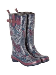 White Stuff Floral High Leg Wellie Multi Coloured