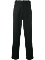 Pringle Of Scotland Tapered Fit Trousers Black
