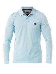 Eden Park Rugby Polo Shirt Blue