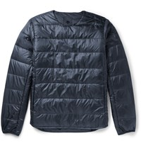 Descente H.C.S. Quilted Shell Down Jacket Navy