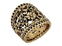 Lucky Brand Lace Openwork Ring Gold Ring