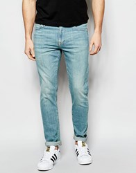 Asos Skinny Jeans In Lightwash Blue Light Blue