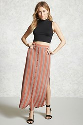 Forever 21 Contemporary Stripe Maxi Skirt