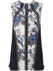 Mary Katrantzou Paisley Print Tank Top Multicolour