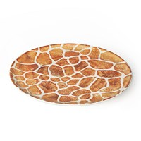 Bliss Home Into The Jungle Giraffe Platter