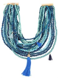 Rosantica Etna Beaded Multi Strand Necklace
