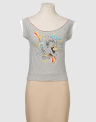 Sundek Sleeveless T Shirts Light Grey
