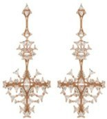 Fernando Jorge Fusion Cross Earrings Rose Gold